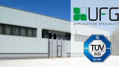 Certificazione TUV ISO-9001